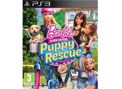 Barbie & Her Sisters Puppy Rescue - PS3 Game