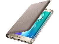 Θήκη Samsung Galaxy S6 Edge Plus - Samsung Wallet Flip Cover Χρυσό (EF-WG928PFEGWW)