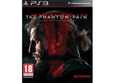 Metal Gear Solid V Phantom Pain - PS3 Game