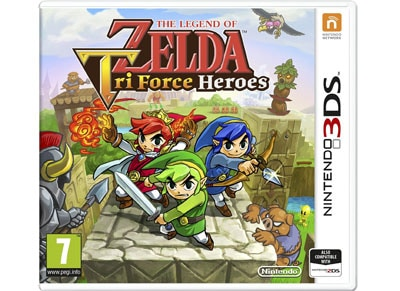 The Legend of Zelda - TriForce Heroes - 3DS/2DS Game gaming   παιχνίδια ανά κονσόλα   3ds 2ds