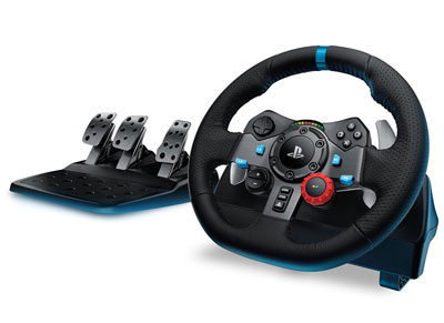 Logitech G29 Driving Force - Τιμονιέρα PS4/PS3/PC gaming   αξεσουάρ κονσολών   ps4   τιμονιέρες
