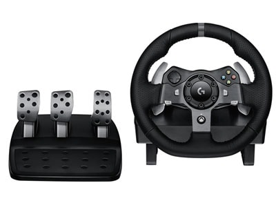 Logitech G920 Driving Force - Τιμονιέρα Xbox One/PC