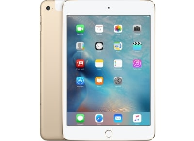 "Apple iPad mini 4 7.9"" 128GB 4G/LTE Gold"