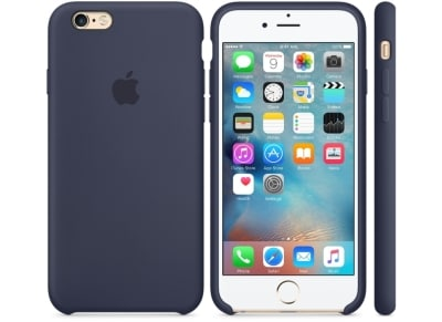 Θήκη iPhone 6/6S - Apple Silicone Case Midnight Blue (MKY22ZM/A) apple   αξεσουάρ iphone   θήκες