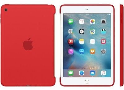 Apple Silicone Case - Θήκη iPad mini 4 Red (MKLN2ZM/A)