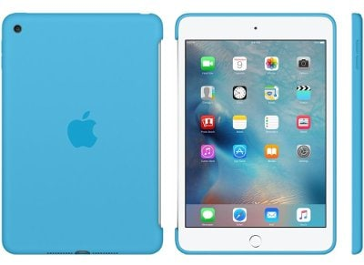 Apple Silicone Case - Θήκη iPad mini 4 Blue (MLD32ZM/A) tablets   αξεσουάρ   θήκες