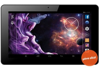 "eStar Grand Tablet 10.1"" 8GB 3G Μαύρο"