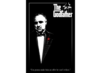 GODFATHER RED ROSE[POSTER]