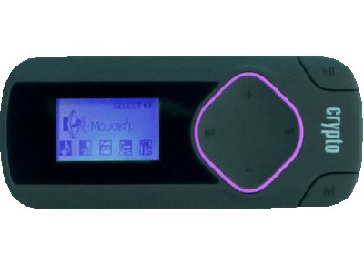 MP3 Player Crypto MP315 8GB Μωβ