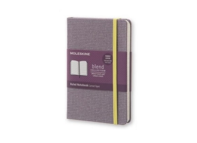 Σημειωματάριο Moleskine Limited Edition Blend Ruled Violet - Small