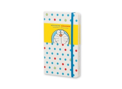 Σημειωματάριο Moleskine Doraemoν Ruled Hardcover White - Small