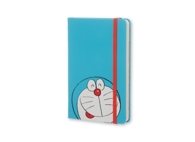Σημειωματάριο Moleskine Doraemoν Plain Hardcover Blue - Small