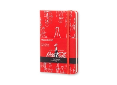 Σημειωματάριο Moleskine Limited Edition Coca-Cola Hard Cover Red - Small