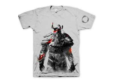 T-Shirt Gaya The Elder Scrolls Online Nord Λευκό - M gaming   gaming cool stuff   t shirts   φούτερ