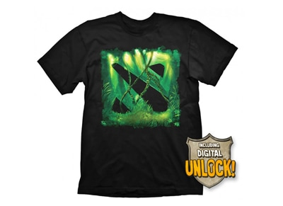 T-Shirt Gaya DOTA 2 Jungle Μαύρο & Bonus DLC - M gaming   gaming cool stuff   t shirts   φούτερ