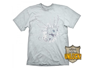 T-Shirt Gaya DOTA 2 Puck Λευκό & Bonus DLC - Ανδρικό L gaming   gaming cool stuff   t shirts   φούτερ