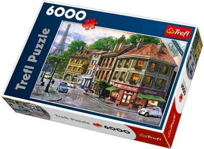 Παζλ Street of Paris - Trefl Puzzles - 6000 Κομμάτια