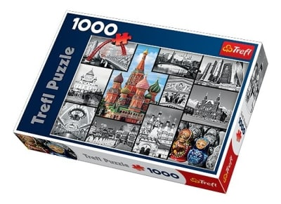 Puzzle Trefl: Moscow - Collage 1000 Κομμάτια (817-10380)