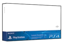 Sony PS4 HDD Cover Glacier White - Πρόσοψη PS4
