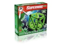 Σετ Κατασκευής Glow in The Dark Supermag Maxi Magnetic Building Sets (44 κομμάτια)