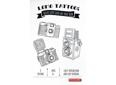 Tattoo - Lomography Temporary Gadget - Μαύρο