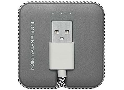 Καλώδιο & Powerbank σε ένα - micro USB to USB καλώδιο - Native Union Light 800