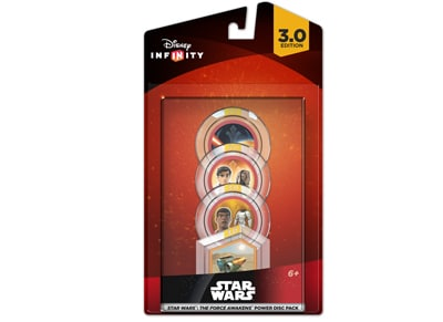 Φιγούρα Disney Infinity 3.0 Star Wars The Force Awakens Power Disc Pack