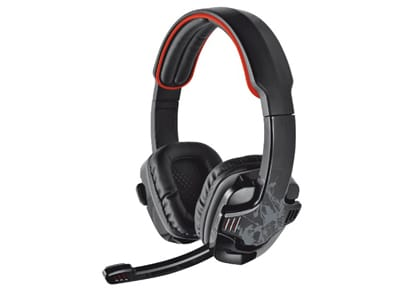 Trust GXT 340 7.1 - Gaming Headset Μαύρο gaming   αξεσουάρ pc gaming   gaming headsets