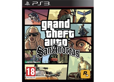 Grand Theft Auto: San Andreas – PS3 Game