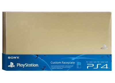 Sony PS4 HDD Cover Gold - Πρόσοψη PS4 gaming   αξεσουάρ κονσολών   ps4   λοιπά αξεσουάρ