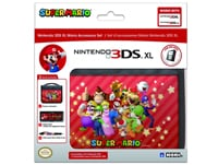 Hori Mario Set - Σετ Προστασίας New 3DS, New 3DS XL, 3DS, 3DS XL Μαύρο
