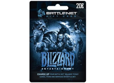 Blizzard Battle.net Gift Card 20€ - Prepaid Card