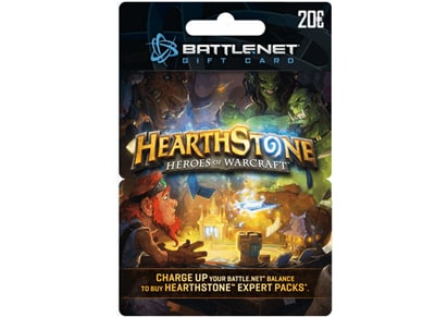 Blizzard Battle.net Gift Card 20€ Hearthstone Edition - Prepaid Card