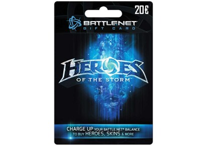 Blizzard Battle.net Gift Card 20€ Heroes of the Storm Edition - Prepaid Card