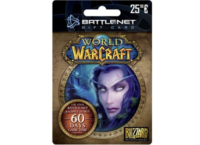 Blizzard Battle.net Gift Card 25,98€ World of Warcraft Edition - Prepaid Card