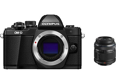 Mirrorless Camera Olympus E-M10 Mark II & EZ-M1442 IIR - Μαύρο