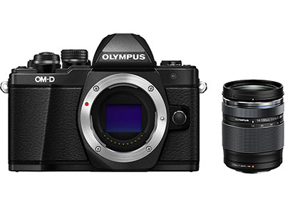 Mirrorless Camera Olympus E-M10 Mark II & 14-150mm - Μαύρο