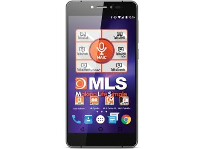 "MLS Diamond 5.2"" 16GB Μαύρο Smartphone"
