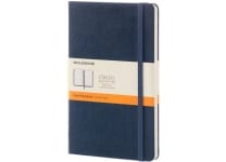 Σημειωματάριο Moleskine Ruled Large Saphire Blue - Large