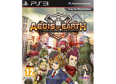 Aegis of Earth: Protonovus Assault - PS3 Game