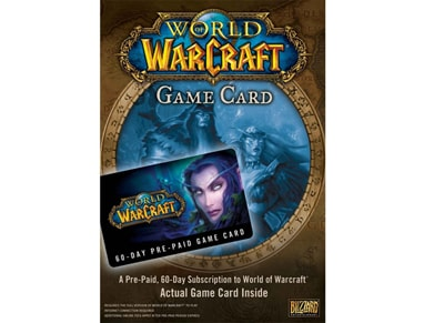 World of Warcraft - Prepaid Card 60 Days - PC gaming   προπληρωμένες κάρτες