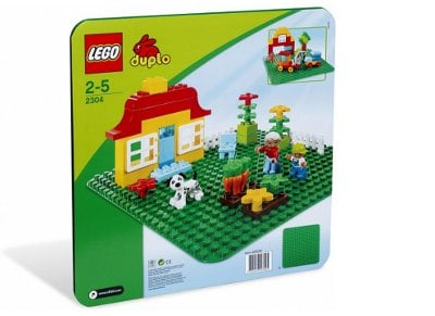 LEGO® Large Green Building Plate