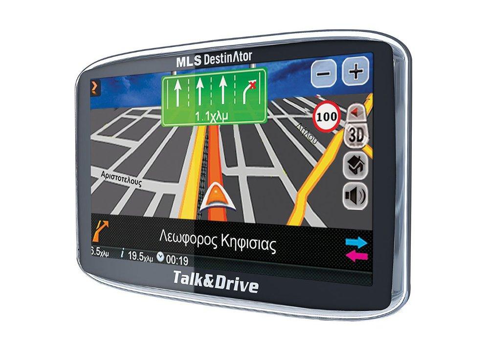 Gps Mls Destinator Talk Drive 50ts T P Xartes Elladas