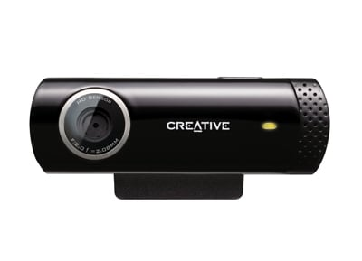 Web Camera Creative Live! Cam Chat HD - Μαύρο