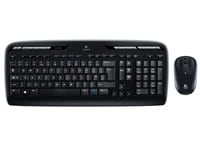 Logitech Wireless Desktop MK330 - Ασύρματο - Μαύρο