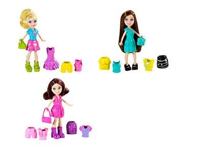 Polly Pocket Φιγούρες Κούκλα με Ρούχα- 3 Σχεδια - 1 Τεμάχιο  ab713fd714c
