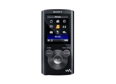 Sony NWZE384L - MP4 - 8 GB - Μαύρο