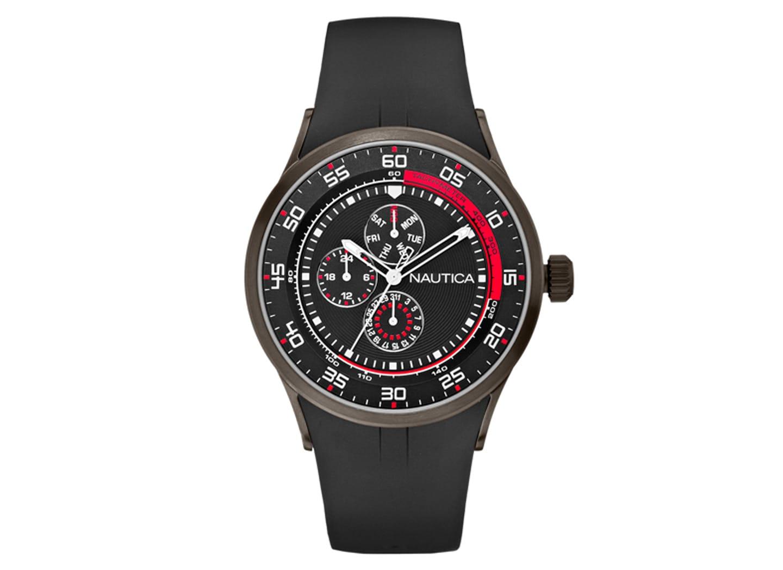 Ανδρικό Ρολόι Nautica Chrono Μαύρο (A15649G)  002e4a3b108