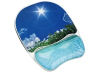 Mousepad Fellowes Crystal Tropical (9202601) Διαφανές