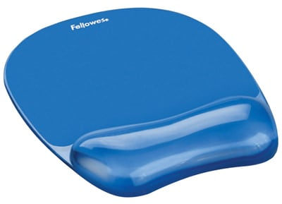 Mousepad Fellowes Crystal Blue (91141) Μπλε